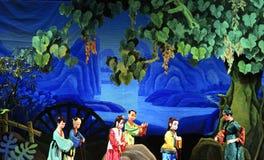 Théâtre de marionnette Photo libre de droits