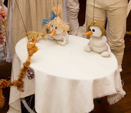 Théâtre de marionnette Image libre de droits