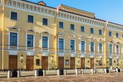 Théâtre de Mikhailovsky à St Petersburg Images stock