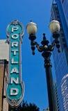Théâtre de Portland image libre de droits