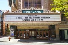 Théâtre de Portland - Arlene Schnitzer Concert Hall - PORTLAND - ORÉGON - 16 avril 2017 Image stock