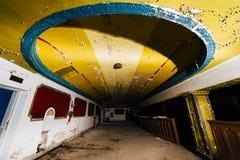 Théâtre de variété abandonné - Cleveland, Ohio Photo stock