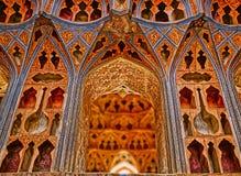 Théâtre de variétés d'Ali Qapu Palace Photographie stock libre de droits