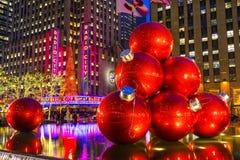 Théâtre de variétés par radio de ville, New York City, Etats-Unis Photo stock