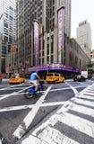 Théâtre de variétés par radio de ville, New York, Etats-Unis Photographie stock