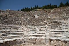 Théâtre de ville antique d'Ephesus Photos stock