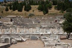 Théâtre de ville antique d'Ephesus Photo stock