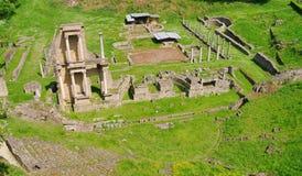 Théâtre de Volterra Image libre de droits