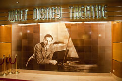 Théâtre de Walt Disney Images libres de droits