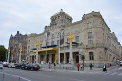 Théâtre dramatique royal Stockholm image libre de droits