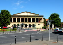 Théâtre en Brasov, Transilvania Images libres de droits