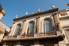 Théâtre et musée Figueres Espagne de Dali Photographie stock libre de droits