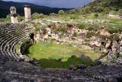 Théâtre et ruines Photographie stock