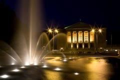 Théâtre grand à Poznan Photo stock