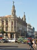 Théâtre grand de La Havane Photo stock