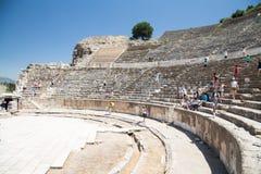 Théâtre grand de ville antique d'Ephesus Photographie stock
