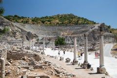 Théâtre grand de ville antique d'Ephesus Image libre de droits