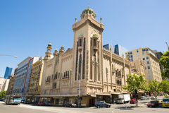 Théâtre Melbourne de forum photo stock