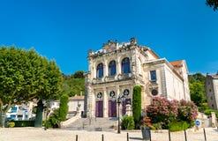 Théâtre municipal d'orange, France image libre de droits