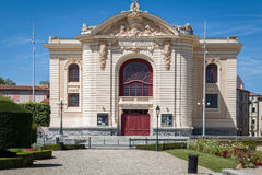 Théâtre municipal dans Castres, France image libre de droits
