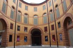 Théâtre municipal de Ferrare image libre de droits
