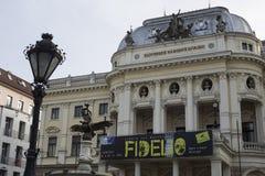 Théâtre national à Bratislava Photo libre de droits
