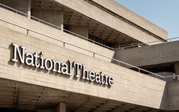 Théâtre national, centre du sud de banque, Londres, R-U Images stock