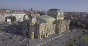 Théâtre national croate dans l'antenne de Zagreb clips vidéos