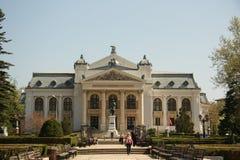 Théâtre national d'Iasi (Roumanie) Images libres de droits