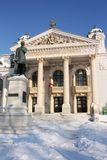 Théâtre national d'Iasi (Roumanie) Photographie stock