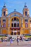 Théâtre national de Cluj-Napoca, Roumanie Photo stock