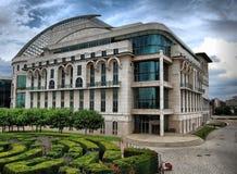Théâtre national hongrois Photographie stock libre de droits