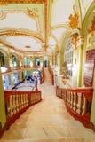 Théâtre national intérieur chez Iasi Images stock