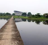 Théâtre national Lagos Nigéria Image libre de droits