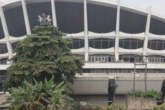 Théâtre national Lagos Nigéria Photographie stock