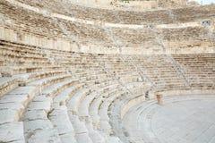 Théâtre romain à Amman, Jordanie Photographie stock libre de droits