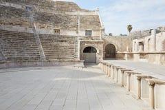Théâtre romain à Amman, Jordanie Images stock