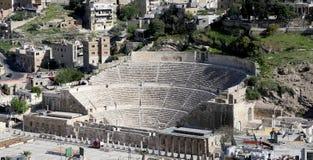 Théâtre romain à Amman, Jordanie Image libre de droits