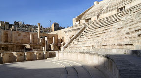 Théâtre romain à Amman, Jordanie Photo stock
