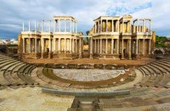 Théâtre romain antique Photos stock