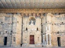 Théâtre romain d'orange, France Photo stock