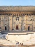 Théâtre romain d'orange, France Photos libres de droits