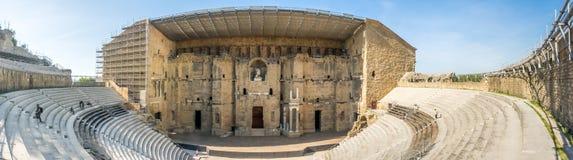 Théâtre romain d'orange, France Photo libre de droits