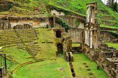 Théâtre romain de Volterra photographie stock libre de droits