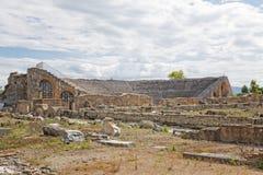 Théâtre Roman Minturno Scauri Photo libre de droits