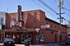 Théâtre 4Star, 1 historique du ` s de San Francisco images stock