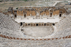 Théâtre Turquie de Hierapolis Images libres de droits