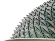 Théâtres d'esplanade, un du point de repère le plus connu du ` s de Singapour photographie stock