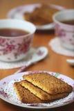 Thé à la maison Photographie stock