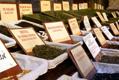 Thé à vendre images stock